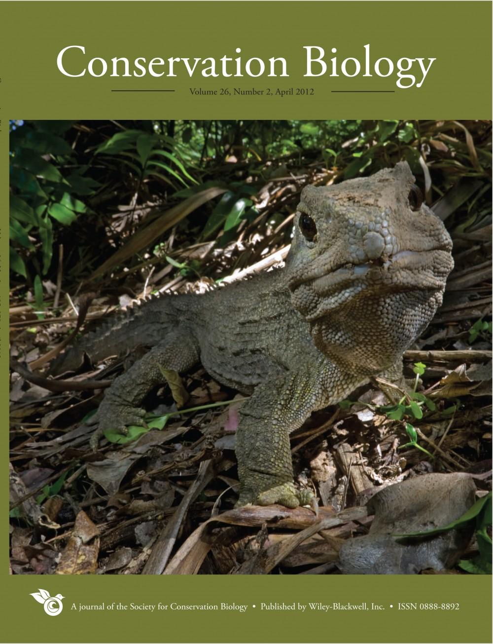 Conservation biology term paper