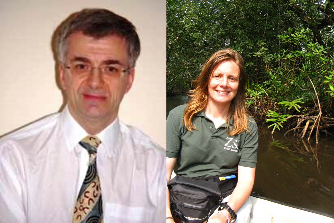 Photo John Baxter & Heather Koldewey to open the IMCC3 main scientific program, 15 August.