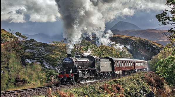 Photo 'The world's most scenic train journey' - the Jacobite Express