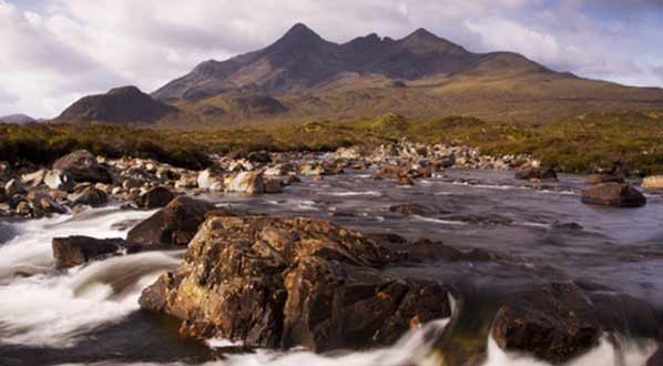 Photo The Cuillin Hills on the Isle of Skye