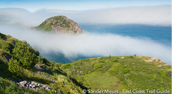 Photo Fog clearing, entrance to St. John's Harbor