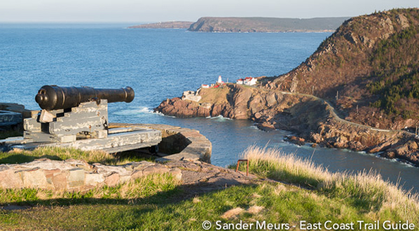 Photo Signal Hill Cannons and Fort Amherst, St. John
