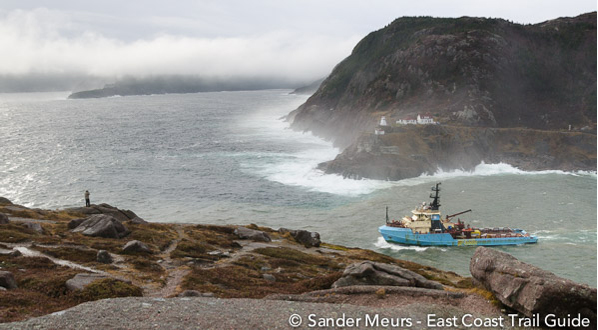 Photo The Narrows and Fort Amherst, St. John