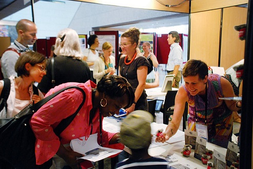 Photo ICCB-ECCB 2015 SCB Booth