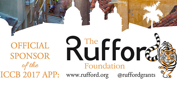 Photo The Rufford Foundation sponsors the ICCB app, which receives thousands of engagements
