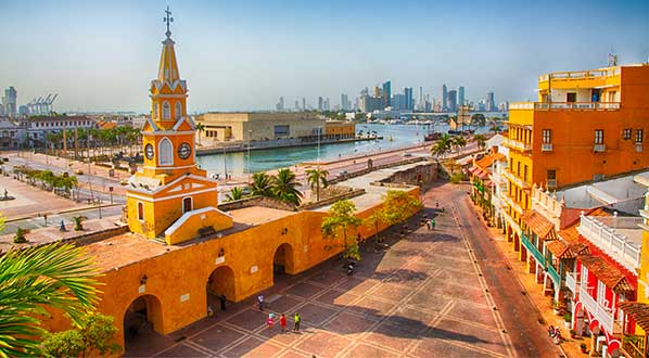 Photo ICCB host city Cartagena, on Colombia's Caribbean Coast, a UNESCO World Heritage site