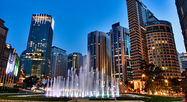 Photo Kuala Lumpur City Centre, where the venue of ICCB 2019 is located.