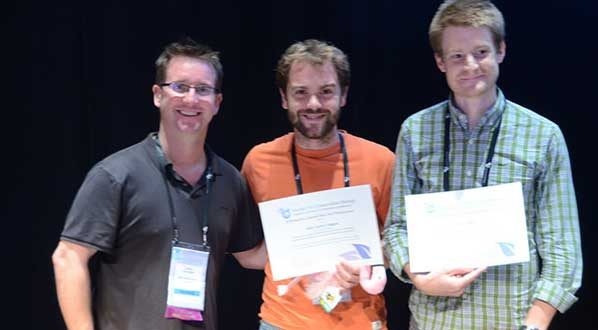 Photo SCB presents awards to students with the best scientific presentations at ICCB