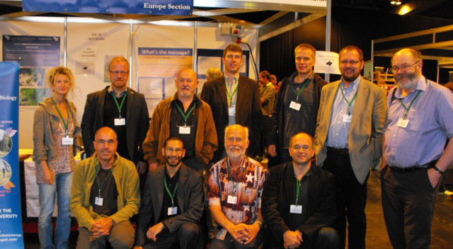 Photo SCB meetings like this one in Europe unite scientists in learning & networking