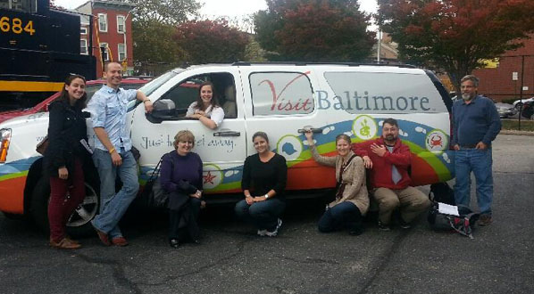 Photo Members from the Local Organizing Committee in Baltimore last fall