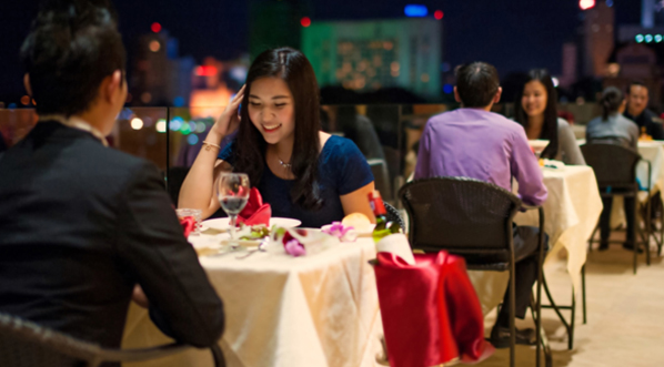 Photo Enjoy delicious food while dining at The Waterfront Hotel