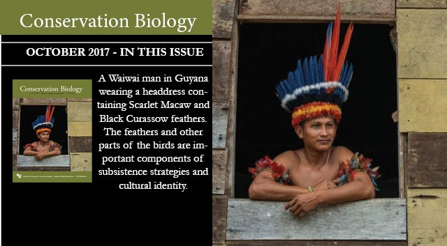 The October issue of Conservation Biology is now available.