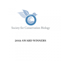 photo for SCB Announces 2019 Award Winners for Outstanding Contributions in Conservation