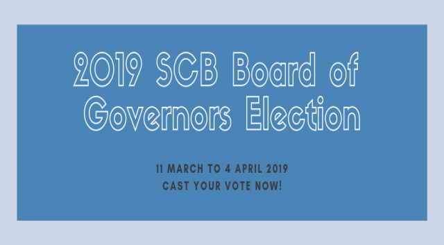 SCB members vote in Board of Governors Election