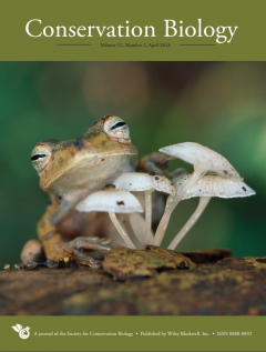 photo for Conservation Biology Special Section: Call for Papers