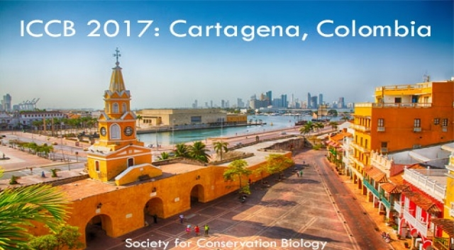 28th International Congress for Conservation Biology (ICCB) will be held in Cartagena, Colombia