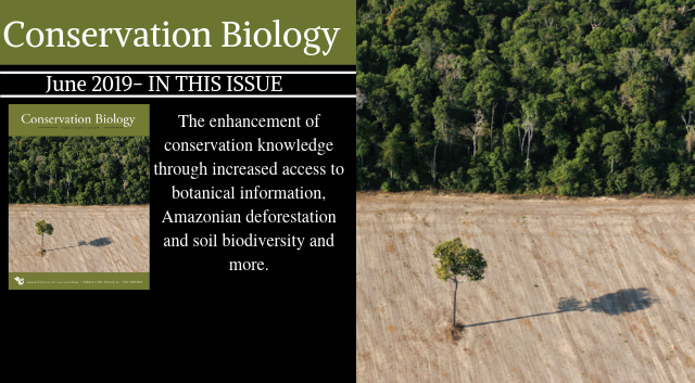 The June issue of Conservation Biology is now available!