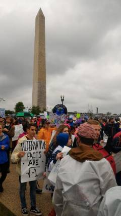 photo for SCB Members March for Science