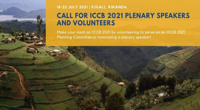 The ICCB 2021 Steering Committee seeks nominations for plenary speakers!