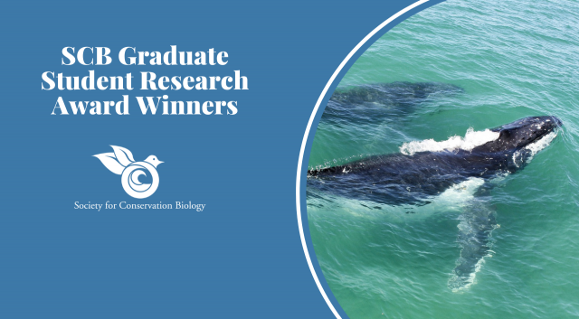 2020 SCB Graduate Student Research Award Winners
