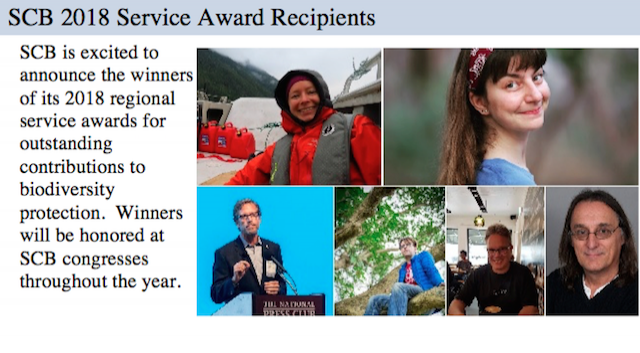 SCB regional service award recipients announced!