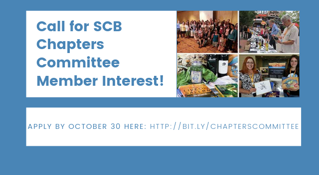 Apply to join the SCB Chapters Committee!