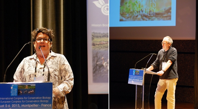 John Woinarski and Sue Miller-Taei among six honored for achievements in conservation at ICCB-ECCB