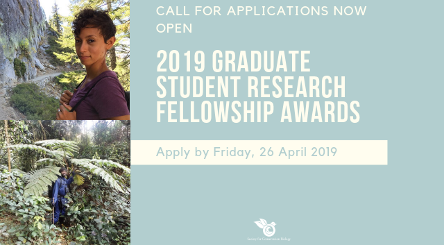 Apply for a 2019 Graduate Student Research Award!