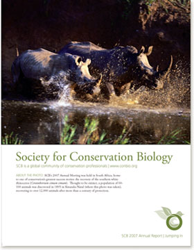 Society for Conservation Biology | Annual Reports